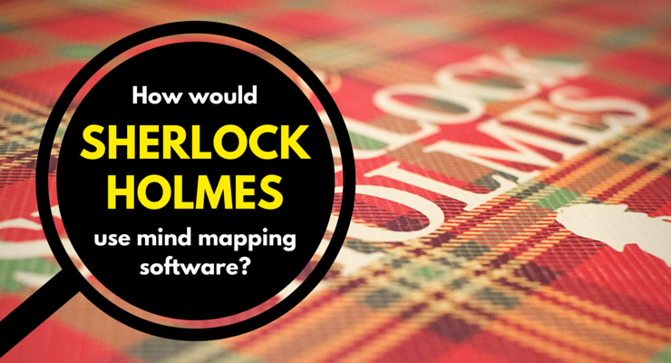 Sherlock Holmes - mind mapping software