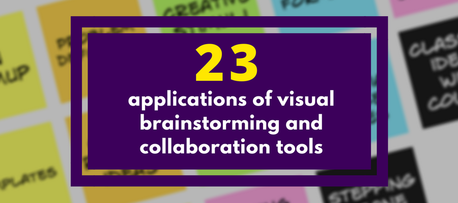 visual brainstorming and collaboration apps