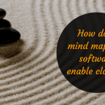 How does mind mapping software enable clarity?