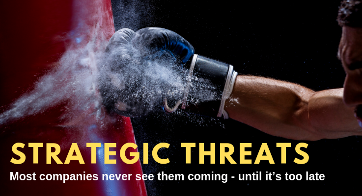 Strategic threats: What you don't know can kill your business