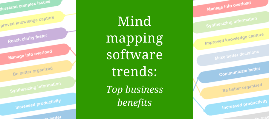 mind mapping software trends: top benefits